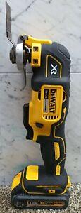 DEWALT 18V XR Brushless Oscillating Multi Tool +1.5ah battery