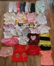 Baby Girl Clothes 31 Piece LOT Size 0-3 Months Great Brands Great Condition