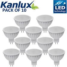 10x 5W MR16 LED Bulbs SMD Lamp Spotlight Cool White GU5.3 50W Halogen Bulb DC12V