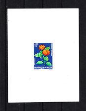 épreuve de luxe  Niger  1964/65  fleur lantana camara  15f  num: 137
