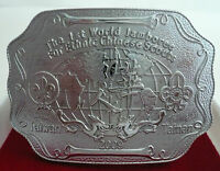 SCOUT OF CHINA (TAIWAN) - 1 WORLD JAMBOREE FOR ETHNIC CHINESE SCOUTS 2009 BUCKLE