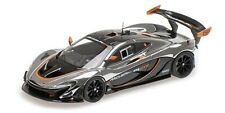 Almost Real ALM440105 -  MCLAREN P1 GTR – CHROME AND GLOSS BLACK  1/43