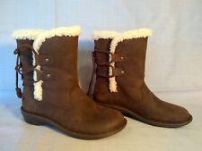 New UGG Australia Womens Akadia Sheepskin Winter Boot Stout Size US 8