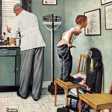 Masterpieces Norman Rockwell At The Doctor 1000 pcs Puzzle