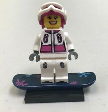Genuine LEGO Collectible Minifigure - Snowboarder from series 3 - col039