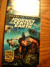 Journey to the Center of the Earth both 2-d ,3- versions with 4 pair 3-d glasses