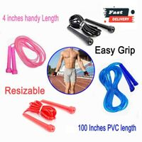 Skipping Rope Jumping Speed Exercise Fitness Adults Kids Weight Loss Rope
