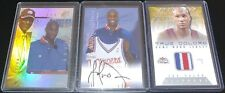 1999-00 SKYBOX AUTOGRAPHICS LAMAR ODOM ROOKIE ON-CARD AUTO SPX RC 3 COLOR JERSEY