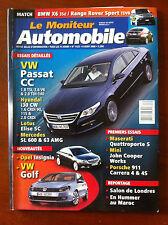 Le moniteur Automobile 6/08/2008; Passat CC/ Hyundai i30 CW/ Lotus Elise SC