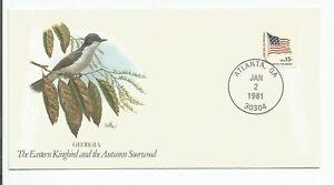 Songbirds of the 50 States - Fleetwood - Georgia - Eastern Kingbird  #RACI