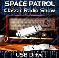 SPACE PATROL - OLD TIME RADIO SHOW SCI-FI DRAMA USB - 100 EPISODES MP3