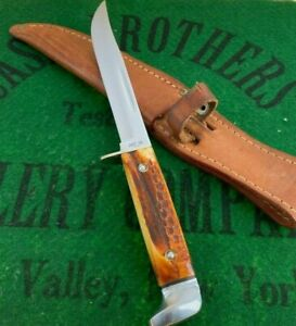case xx second cut stag 516-5 knife usa era 1965 only year made very rare unused