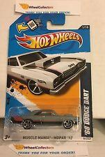 '68 Dodge Dart #81 * Grey Walmart Only * 2012 Hot Wheels * N166