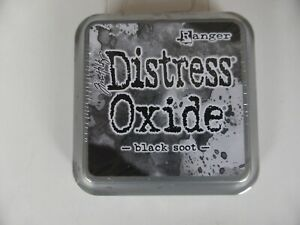 *NEW* (Ranger) TIM HOLTZ Distress OXIDE *Black Soot* (Full Sized Ink Pad)