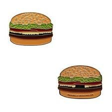 GeoBurger - Gold Geocoin Geocaching Trackable Travelbug Geocoins Burger Neu OVP
