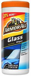 Armor All 17501C 30 Count Glass Wipe