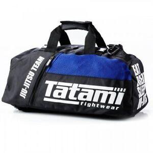 Tatami BJJ Blue Holdall JiuJitsu Gear Bag NoGi Training Rucksack MMA Backpack