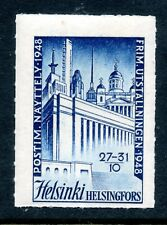 Finland Poster Stamp - 1948 Helsinki Philatelic Exhibition