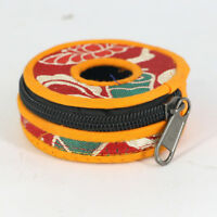 1Pc Professional Nepal Handmade Cloth Belly Dancing Finger Cymbals Cover Bag