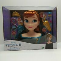 Disney Frozen II Queen Anna Deluxe Styling Head (Damaged Retail Packaging) 32800
