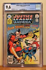 JUSTICE LEAGUE # 138 CGC 9.6 - WHITE PAGES **NEAL ADAMS' COVER, ADAM STRANGE**