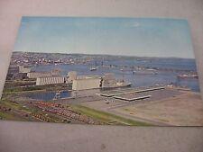 Vintage Postcard: FOREIGN SHIPS Duluth Superior Harbor