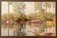 FOLKSTON GEORGIA OKEFENOKEE NATIONAL WILDLIFE REFUGE POSTCARD J15