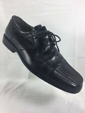 Stacy Adams Mens 11W Black Oxford Square Toe Dress Shoes Lace Up