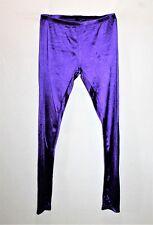 Sportsgirl Brand 1970s Retro Disco Purple Legging Pant Size S BNWT #TK87