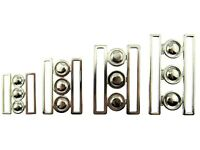 Nurses Waspie Buckles - 4 x Sizes - 2 x Colours Silver or Gold Colour Buckles