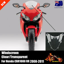 Clear Windshield WindScreen For  Honda CBR 1000 RR 2008 2009 2010 2011 AU STOCK