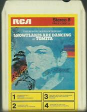 8-Track / 8-Spur Tonband : Tomita - Snowflakes are dancing (Vintage Ambient)