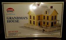 HO 1:87 Scale GRANDMA'S HOUSE Kit Model Power New in Sealed Box 487