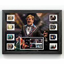 More details for framed collectable stamps elton john royal mail® album covers