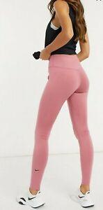 Nike Training One Dri Fit Small Pink Leggings RRP £35
