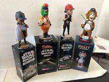 Star Wars SGA Bobblehead Collector Lot , Phillies,Salem, Red Sox , etc 4 Bobbles