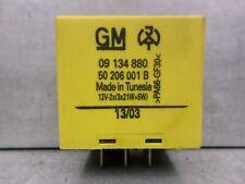 Vauxhall Corsa C Yellow Indicator Flasher Relay GM 09134880