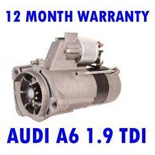AUDI A6 1.9 TDI 2001 2002 2003 2004 2005 STARTER MOTOR
