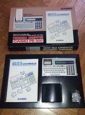 Pocket computer Casio PB 300 PB-300 Personal Computer Calculator BOXED VINTAGE