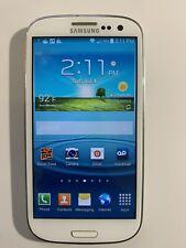 Samsung Galaxy S3 S III SPH-L710 Boost Mobile White Phone, Clean ESN
