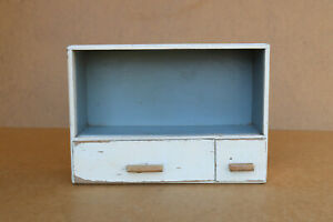 Antique Vintage Wooden Wood Medical Box First Aid Chest Cupboard Rustic 1960's