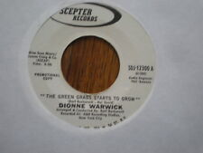 Dionne Warwick 45 The GReen Grass Starts To Grow PROMO SCEPTER
