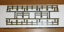 LIONEL NEW OLD STOCK PART PLASTIC GREEN FENCE COMPLETE FLAT CAR O GAUGE TRAIN