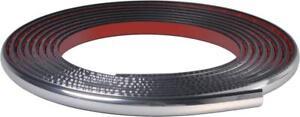 CHROME Car Door Bumper Wheel Arch Moulding Strip fits ASTON MARTIN 14mm (005)