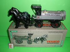 TEXACO HORSE DRAWN TANKER TRUCK TRAILER - 1991 - #8 in Series