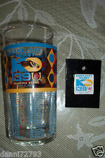 """2013  Kentucky Derby 139 Official Glasses & Logo Pin Set """" FAST SHIPPING """""""