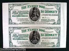 FAMILY DOG-AVALON BALLROOM 1966 POSTER-BO DIDDLEY-STANLEY MOUSE-ALTON KELLEY