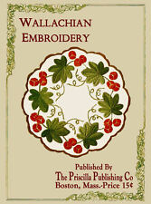 Priscilla Wallachian Embroidery c.1908 Romanian Embroidery Technique