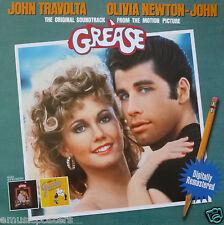 "GREASE ""ORIGINAL SOUNDTRACK"" U.S. PROMO POSTER-John Travolta, Olivia Newton-John"