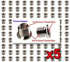 "5x FotoPanda SA1 Screws 1/4"" to 3/8"" Tripod / Monopod Adapter / Bushing / Screw"